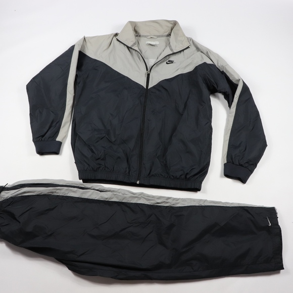 Nike Other - 90s Nike Mens Large Spell Out 2 Piece Track Suit